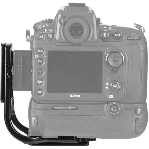 L-Bracket For Nikon d800/D800E With MB-D12 Battery Grip
