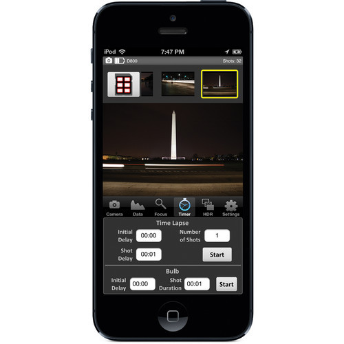 CamRanger Remote Nikon & Canon DSLR Camera Controller, Wireless Camera  Control from iPad, iPhone, iPod Touch, Android, Mac or Windows Computer