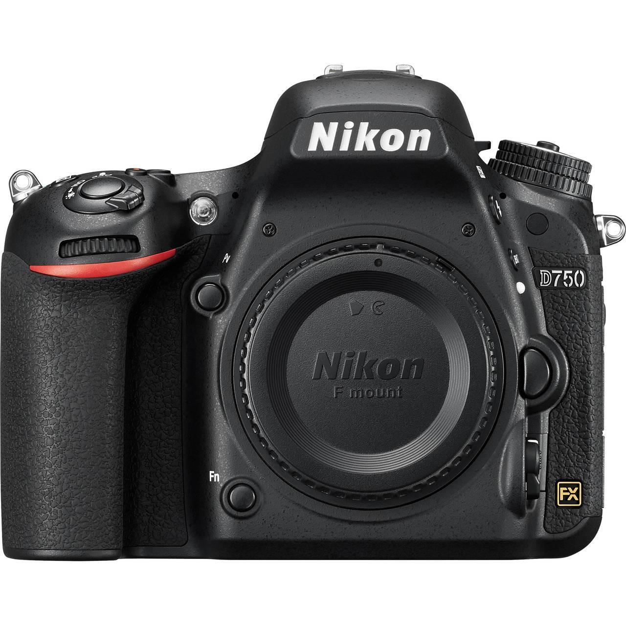 Nikon D750 Front View