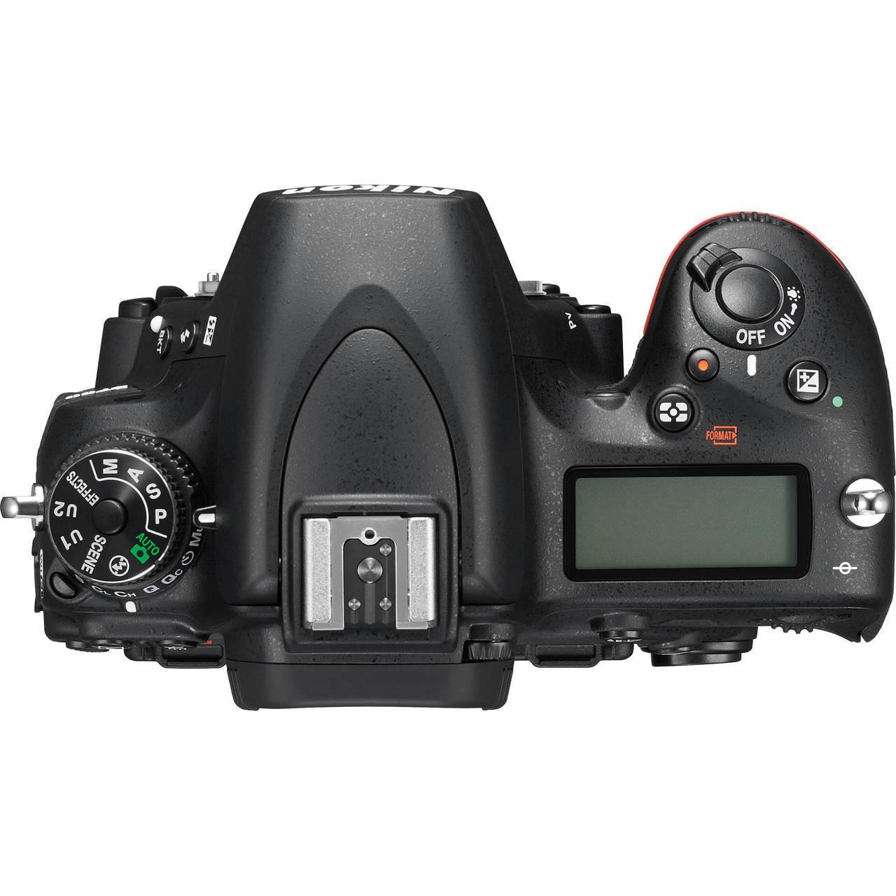 Nikon D750 Top View