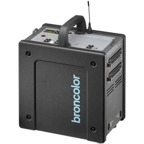 Broncolor Mobil A2L One-Lamp Travel Kit with LiFe Lithium Battery - B-31.023.07  (AcePhoto ACE12809)