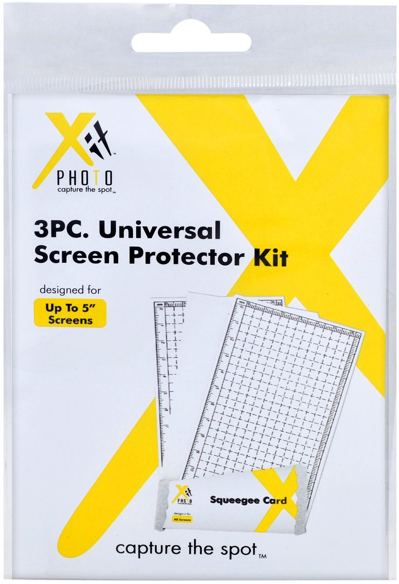 Xit Xtsp3 3 Piece Universal Screen Protector Kit Clear Ace Photo