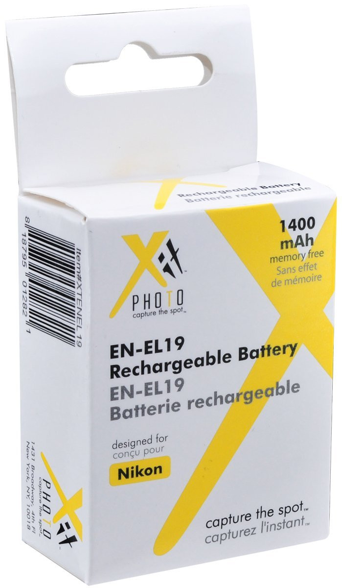 Xit Xtenel19 Replacement Battery For Nikon En El19 Ace Photo