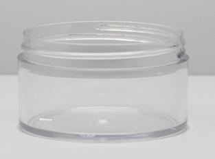 THE LOOK: Styrene has a clear, sleek, glass-like appearance.