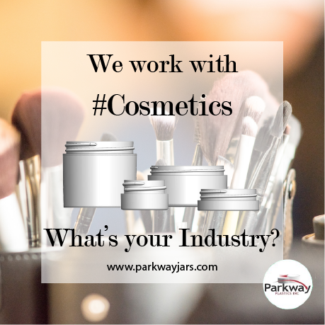 Cosmetics and Makeup Jars
