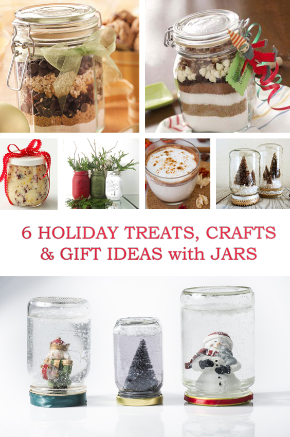6 Holiday Jars from Snow Globes to Gifts & Recipes | How to