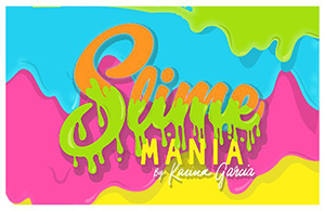 Slime Mania by Karina Garcia logo
