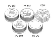 Child Resistant Cap - For 33mm Jars (PC033CR - Samples for Product Testing - MOQ may vary)