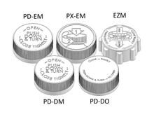 Child Resistant Cap - For 33mm Jars