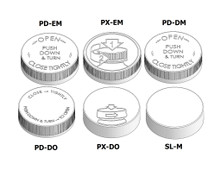 Child Resistant Cap - For 53mm Jars (400 Thread)