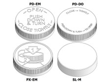 Child Resistant Cap - For 63mm Jars (400 Thread)