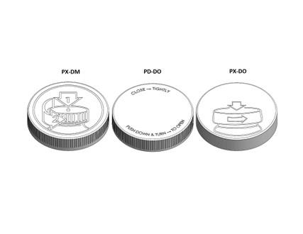 Child Resistant Cap - For 89mm Jars