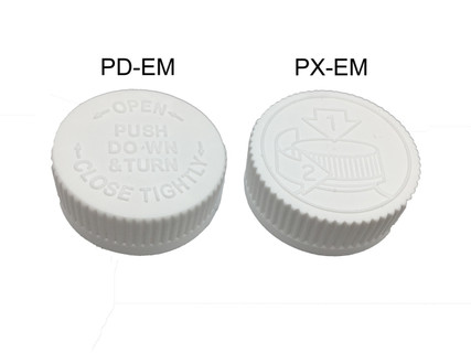 Child Resistant Cap - For 20 mm Jars