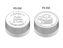 Child Resistant Cap - For 20 mm Jars (PC020CR - Samples for Product Testing - MOQ may vary)