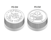 Child Resistant Cap - For 22 mm Jars (PC022CR - Samples for Product Testing - MOQ may vary)