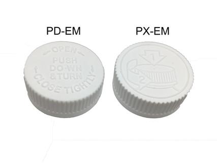 Child Resistant Cap - For 22 mm Jars