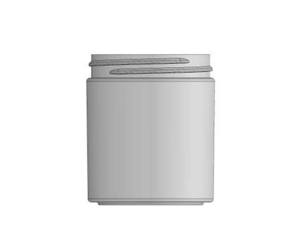 Glass Jar: 58mm - 4 oz