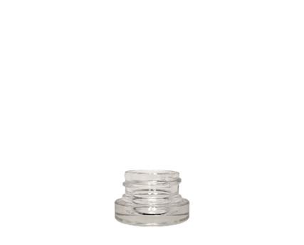 Glass Jar: 28mm - 1/8oz