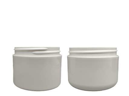 Double Wall Polypro Jar: 89mm - 4oz