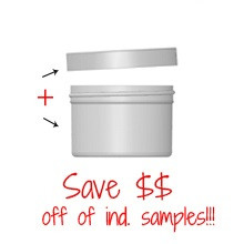 Jar & Cap Combo Cases (330 or 140 pcs) : 83mm - 6 oz