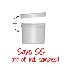 Jar & Cap Combo Case (440 or 200 pcs) : 70mm - 4 oz