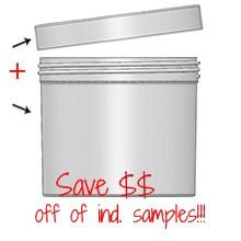 Jar & Cap Combo Case (72 pcs) : 120mm - 32 oz