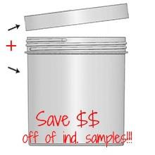 Jar & Cap Combo Case (60 pcs) : 120mm - 40 oz