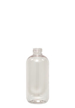 Boston Round PET Bottle (280 pcs/box): 24mm - 8oz (410 Thread)