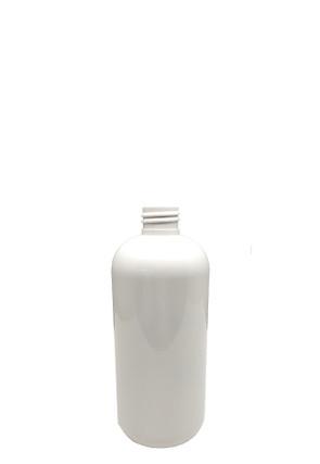 Boston Round PET Bottle: 24mm - 12oz