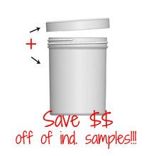 Jar & Cap Combo Case (280 pcs) : 70mm - 8 oz