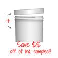 Jar & Cap Combo Case: 89mm - 12 oz