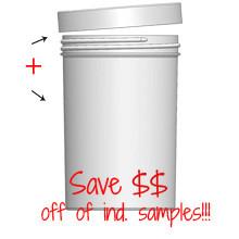 Jar & Cap Combo Case (120 pcs) : 89mm - 20 oz