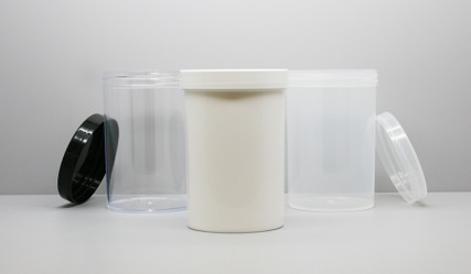 Jar & Cap Combo Case: 89mm - 20 oz