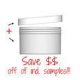 Jar & Cap Combo Case: 100mm - 10 oz