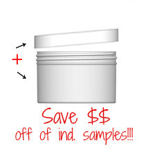 Jar & Cap Combo Case: 100mm - 10 oz