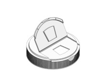 Trapezoid Cap - For 89mm Jars