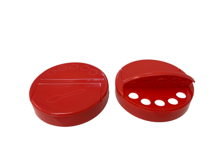 .300'' Sift / Full Pour Cap - For 63mm Jars