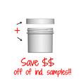 Jar & Cap Combo Case: 58mm - 3 oz