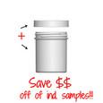 Jar & Cap Combo Case: 58mm - 4 oz