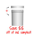 Jar & Cap Combo Case: 63mm - 6 oz