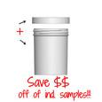Jar & Cap Combo Case: 63mm - 6 oz
