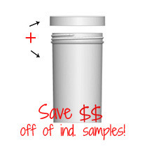 Jar & Cap Combo Case: 63mm - 8 oz