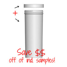 Jar & Cap Combo Case: 63mm - 12oz