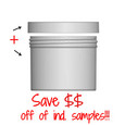 Jar & Cap Combo Case: 100mm - 16 oz