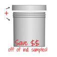 Jar & Cap Combo Case: 100mm - 20 oz
