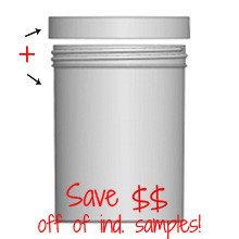 Jar & Cap Combo Case: 100mm - 26oz
