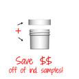 Jar & Cap Combo Case : 43mm - 1 oz