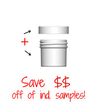 Jar & Cap Combo Case : 43mm - 1 oz