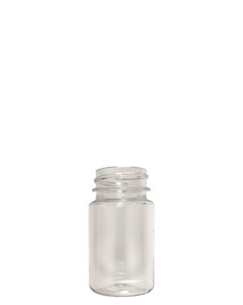 Round Packer PET Bottle: 33mm - 2oz