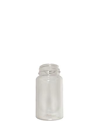 Round Packer PET Bottle: 38mm - 4oz